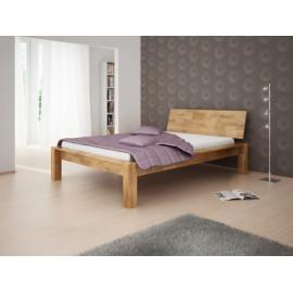 Madros postel Tara buk masiv s čelem, kvalitní truhlářská práce