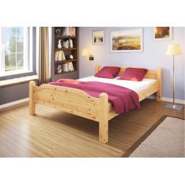 Madros postel Trento v selském stylu, borovice masiv